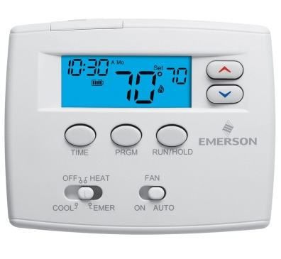 white rodgers thermostat how to turn on heat