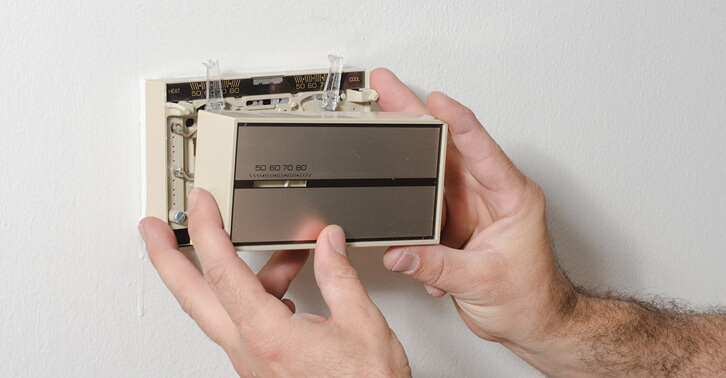 How to Dust Clean Electromechanical Thermostat