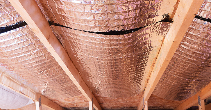 Your attic can get extremely hot and cold. If you have attic air leaks and insufficient insulation a lot of your conditioned air will escape into your ... & Radiant Barrier Attic Insulation for Year-Round Comfort ...