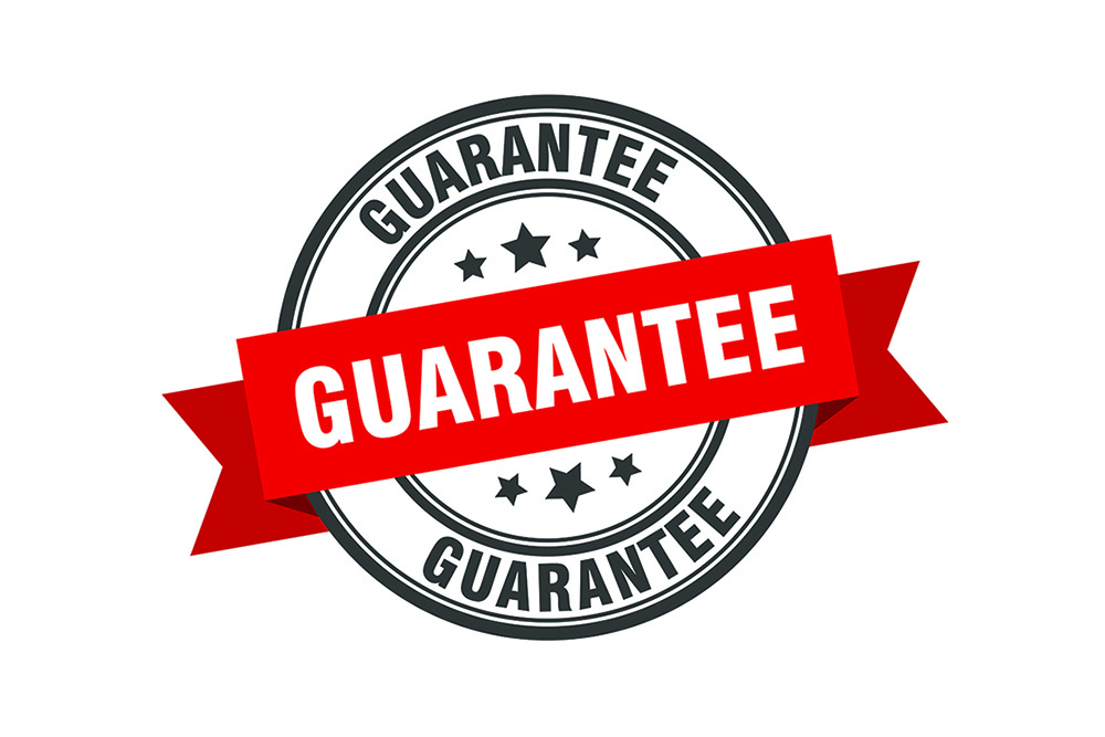 Our 2-Year Client Trust Guarantee