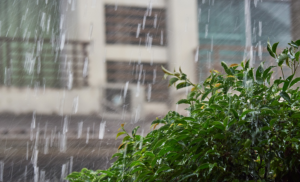 How the Rain Affects Your HVAC