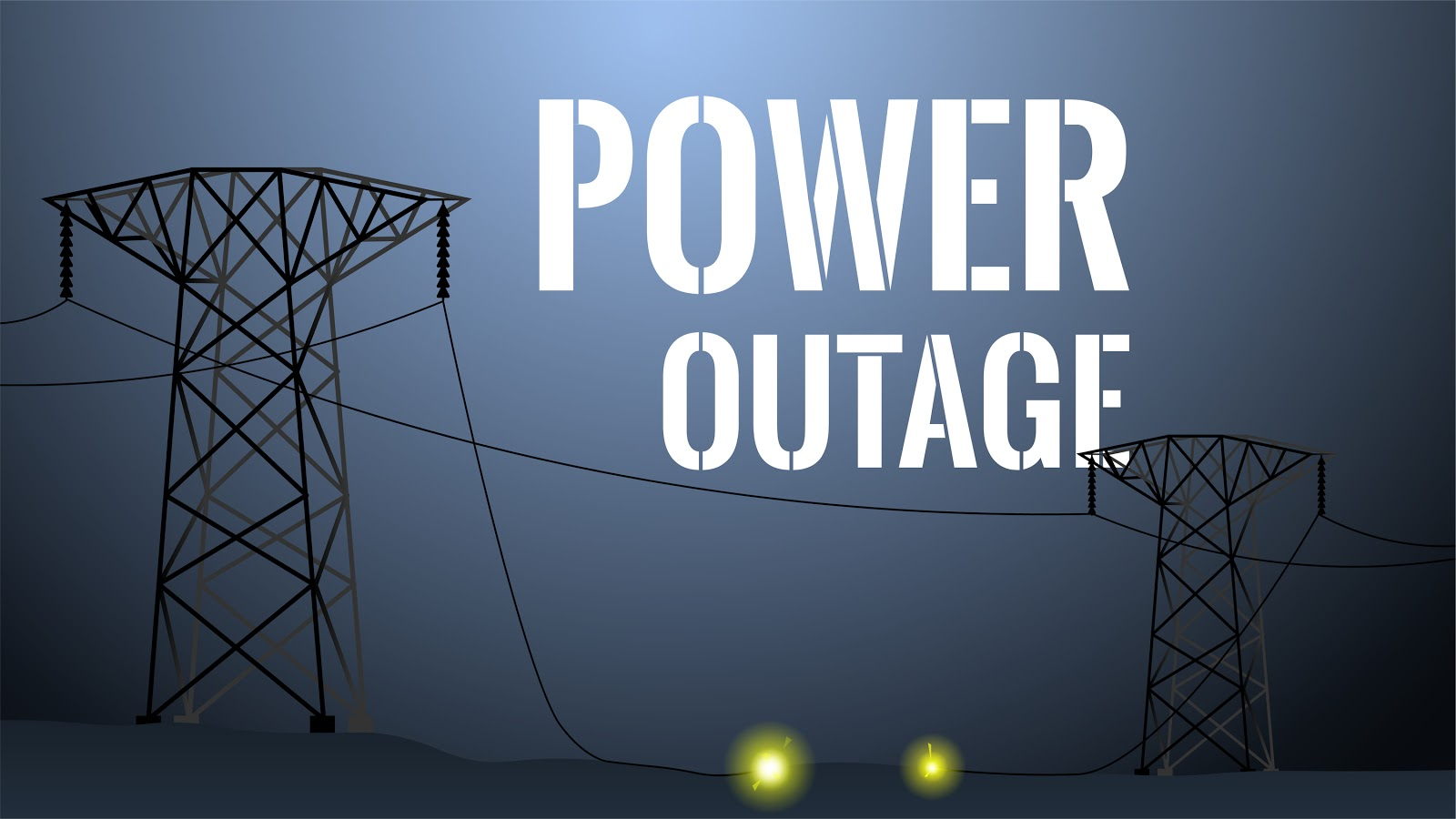 Broken Power Line Resulting in Northern California Power Outage
